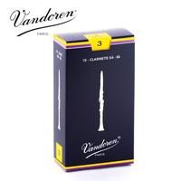 France Vandoren Traditional Bb Clarinet Reeds Strength 3 Box Of 10