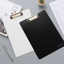 A4 Radnom Solid Color Clipboard Writing Drawing Boards Pads Stationary School Office Supplies