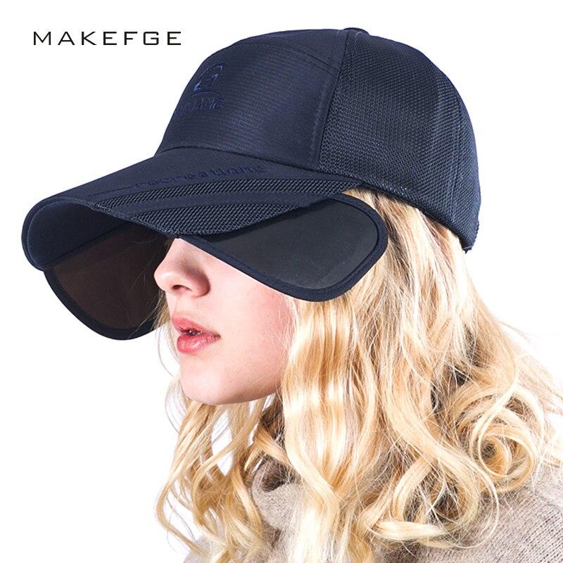 Al aire libre neutral protección UV gorra de béisbol ajustable Casquillos de pesca mujeres ocio viajes casquillo de la playa del verano gorra de béisbol de primavera