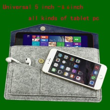 Universal case cover pouch sleeve bag for 5.5 6 7 7.9 8.3 8.4 8.6 inch all kind of tablet pc&Children learning machine bag