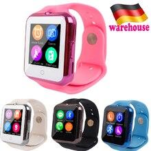 V88 Smart Wrist Watch Heart Rate Smartwatch GSM/GPRS SIM TF Card Multilanguage Wristwatch Call Reminder Intelligent Sport Clock