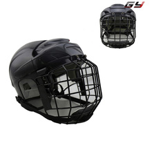 Free shipping High Quality PP EVA Foam Ice Hockey Helmet with black wire cage face mask