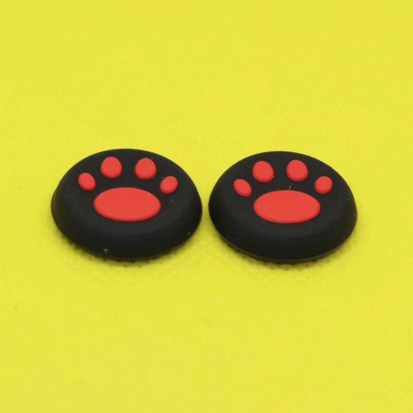 1Pair Silicone Grip Cover Caps Cat Paw for PS3 PS4 for Xboxone Xbox 360 in Replacement Parts Accessories from Consumer Electronics
