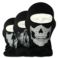 New Hot Sale Ghost Skull Mask Bandana Cosplay Balaclava Tactical CS Wargame Airsoft Training Windproof Breathable Full Face Mask