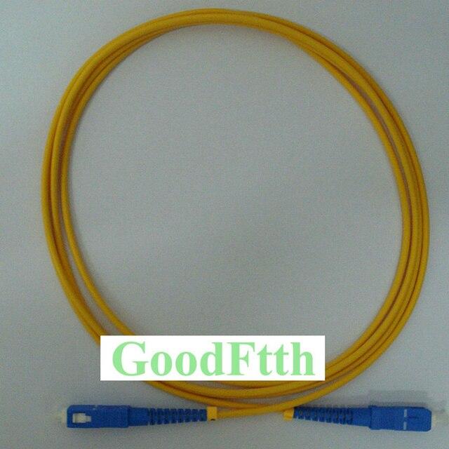 繊維パッチコードジャンパーケーブル SC SC UPC SC/UPC SC/UPC SM シンプレックス GoodFtth 20 50m