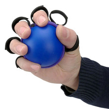Five Fingers Grip Ball Hand Arm Muscle Power Training Rubber Wrist Strength Rehabilitation Fitness Equipment 7*7*7cm