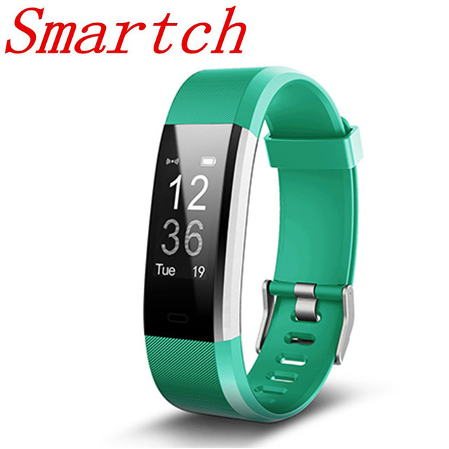 Smartch Sport Smart Bracelet For Run And Ride Mutil Exercise Mode Tracker Id115 Plus Heart Rate