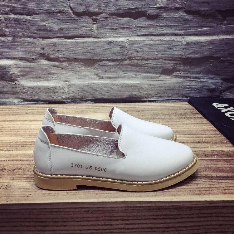 Caliente de La Manera Mujeres de la Marca de Zapatos de Cuero zapatillas de Ball