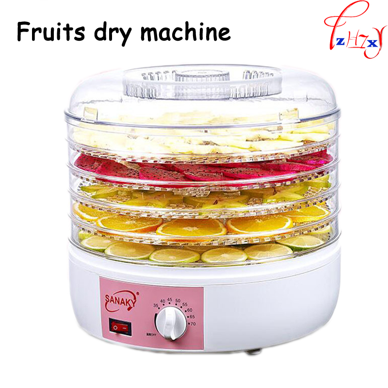 Household Food Dehydrator Fruit Vegetable Herb Meat Drying Machine Snacks Food Dryer Fruit dehydrator with 5 trays food dryer fruit dryer vegetable and herbs dehydrator drying kitchen appliance machine xmas christmas gift present
