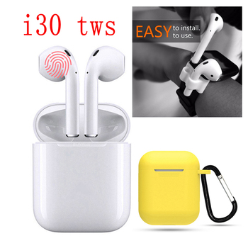 I30 TWS Wireless Earphone Portable 5.0 Bluetooth Headset Invisible Earbud for All Smart Phone Pk I10 Max Tws