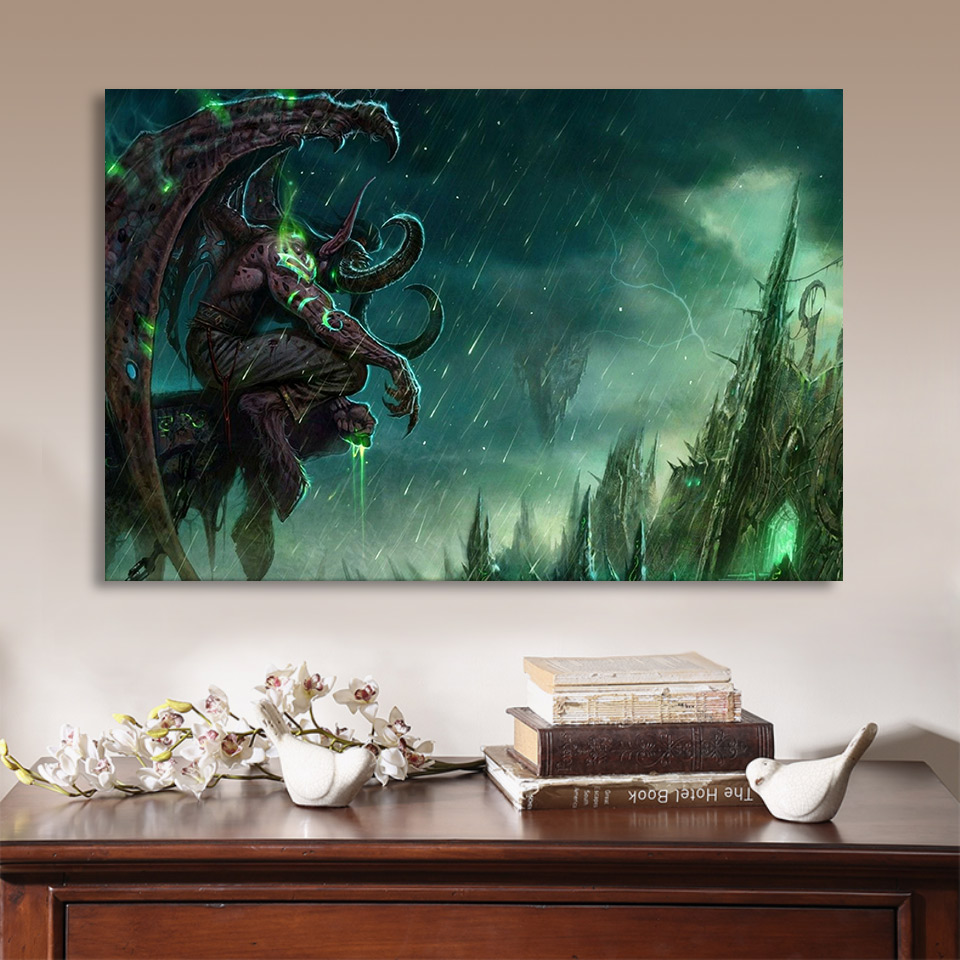 Free Shipping Movie poster Canvas Printing Oil Paintings Decorated on Wall Decorative House Decorative Wholesale FREE ART one 4 in Painting Calligraphy from Home Garden