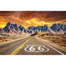 Laeacco Route 66 Mountains Scenic Photocall baby Photography Background Customized Photographic Backdrop For Photo Studio стоимость