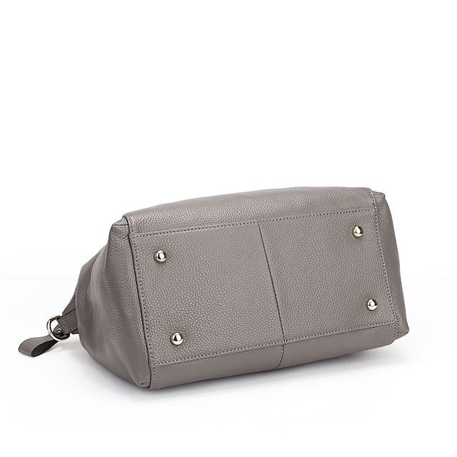 Quality Trunk Fashion Causal Genuine Leather Handbag Women Tote Messenger Shoulder Crossbody Bags Famous Designer Brand Ladies