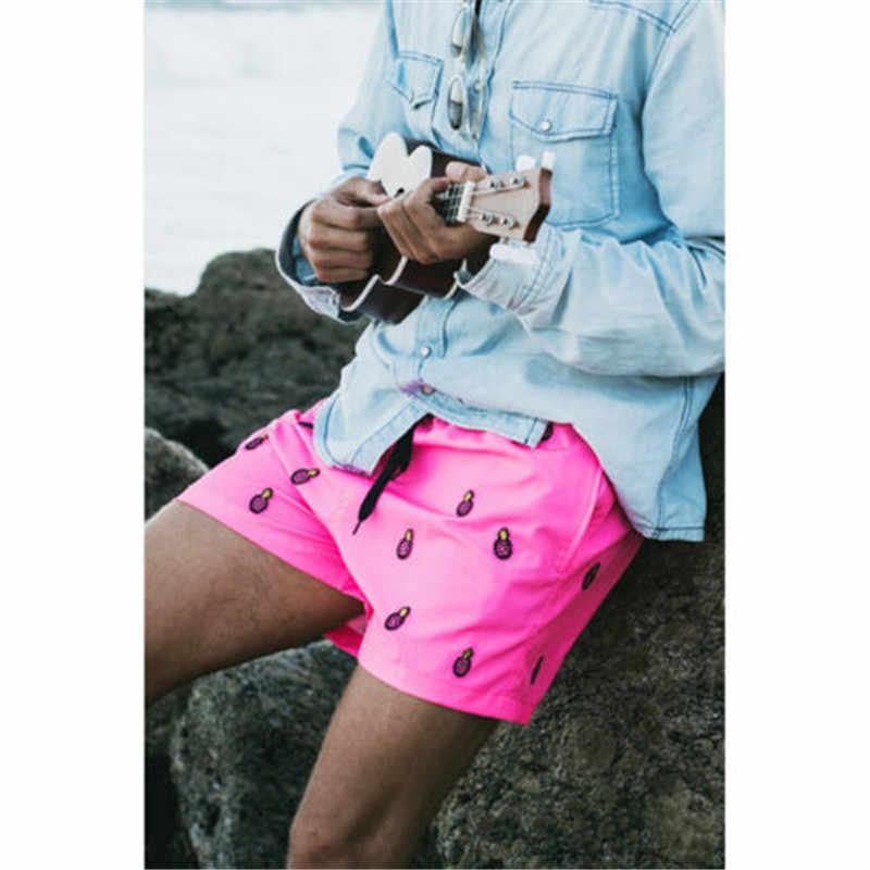 2019 Baju Renang Pria Celana Renang Pria Berenang Maillot De Bain Homme Baju Bermuda Surf Beach Pakaian Pria Celana Pendek