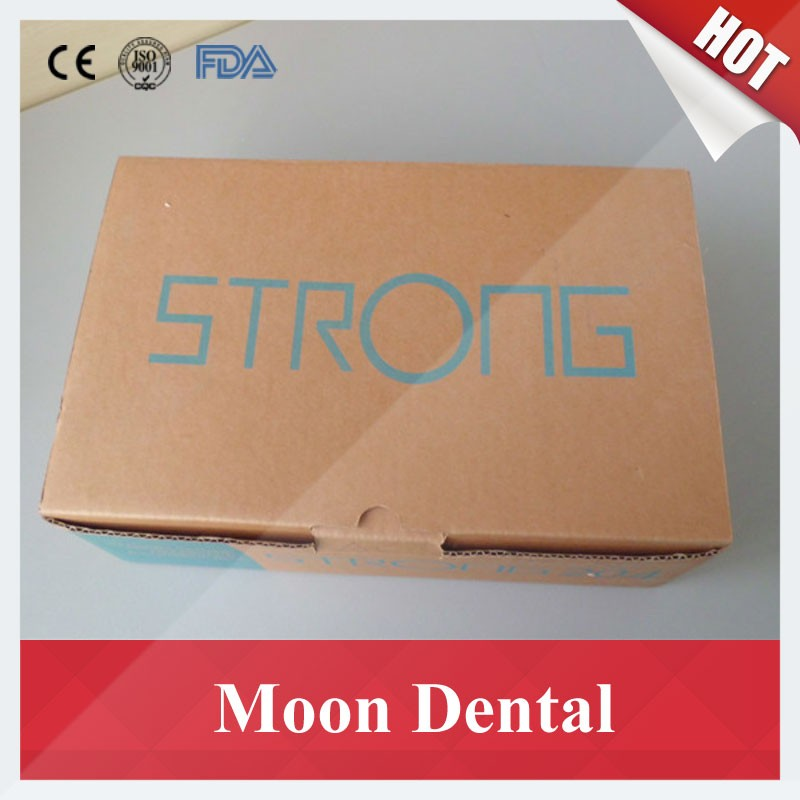 Strong 204 mocromotor+108E+straight contra angle handpiece 7
