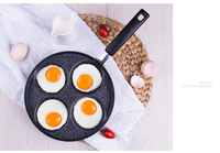 Non stick pan gas non stick omelette pot home porous omelette pan frying pan household small frying pan 004
