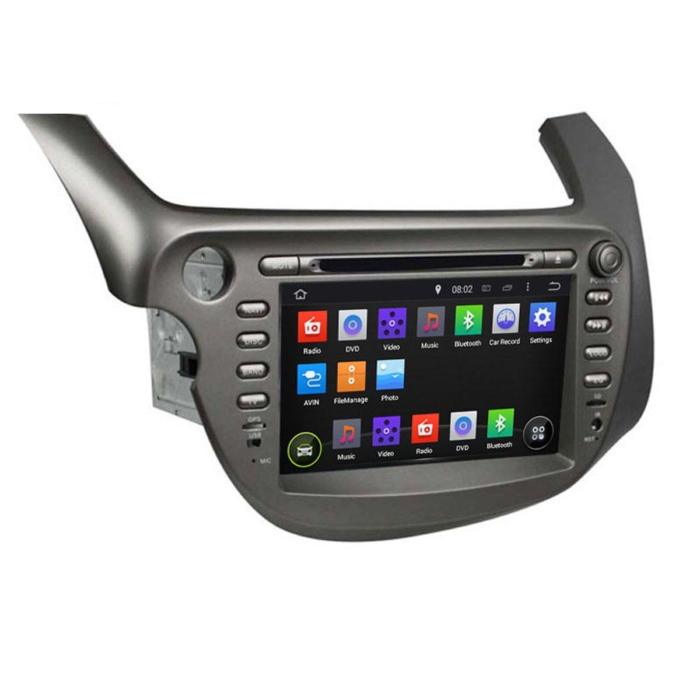 8 octa quad core android fit honda fit jazz 2007 2008 2012 2013 car dvd player navigation gps tv radio
