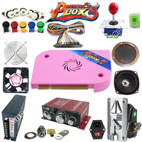 Arcade parts Bundles kit With Joystick Pushbutton Micro switch button Pandora Box 6 Game PCB to Arcade Machine