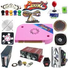 цены на Arcade parts Bundles kit With Joystick Pushbutton Micro switch button Pandora Box 6 Game PCB to Arcade Machine в интернет-магазинах