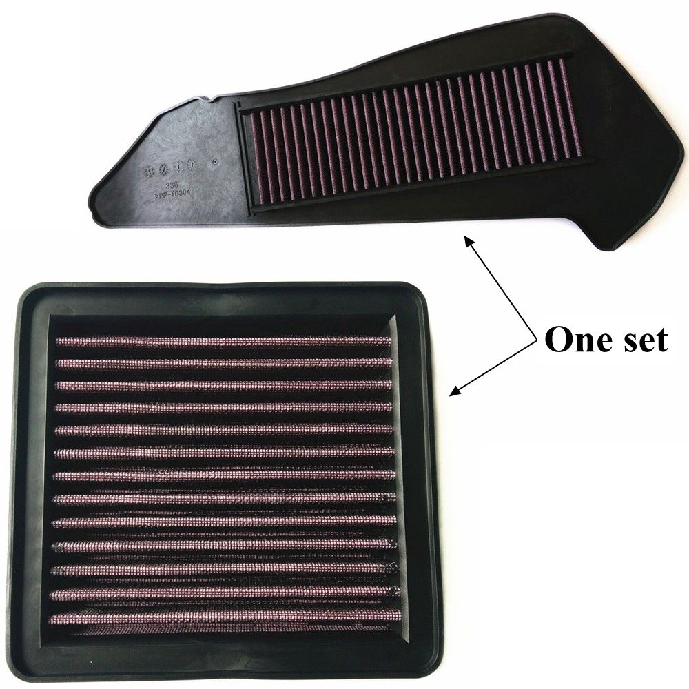 Modified Motorcycle xmax reuse high flow air filter air filters for yamaha xmax 300 xmax 250 2017 2018
