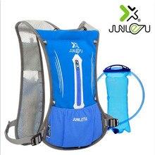 Running Marathon Backpack JUNLETU 2011 Nylon Cycling Backpack For 2L Water Bag Sports Bag Outdoor Climbing Hiking Bag