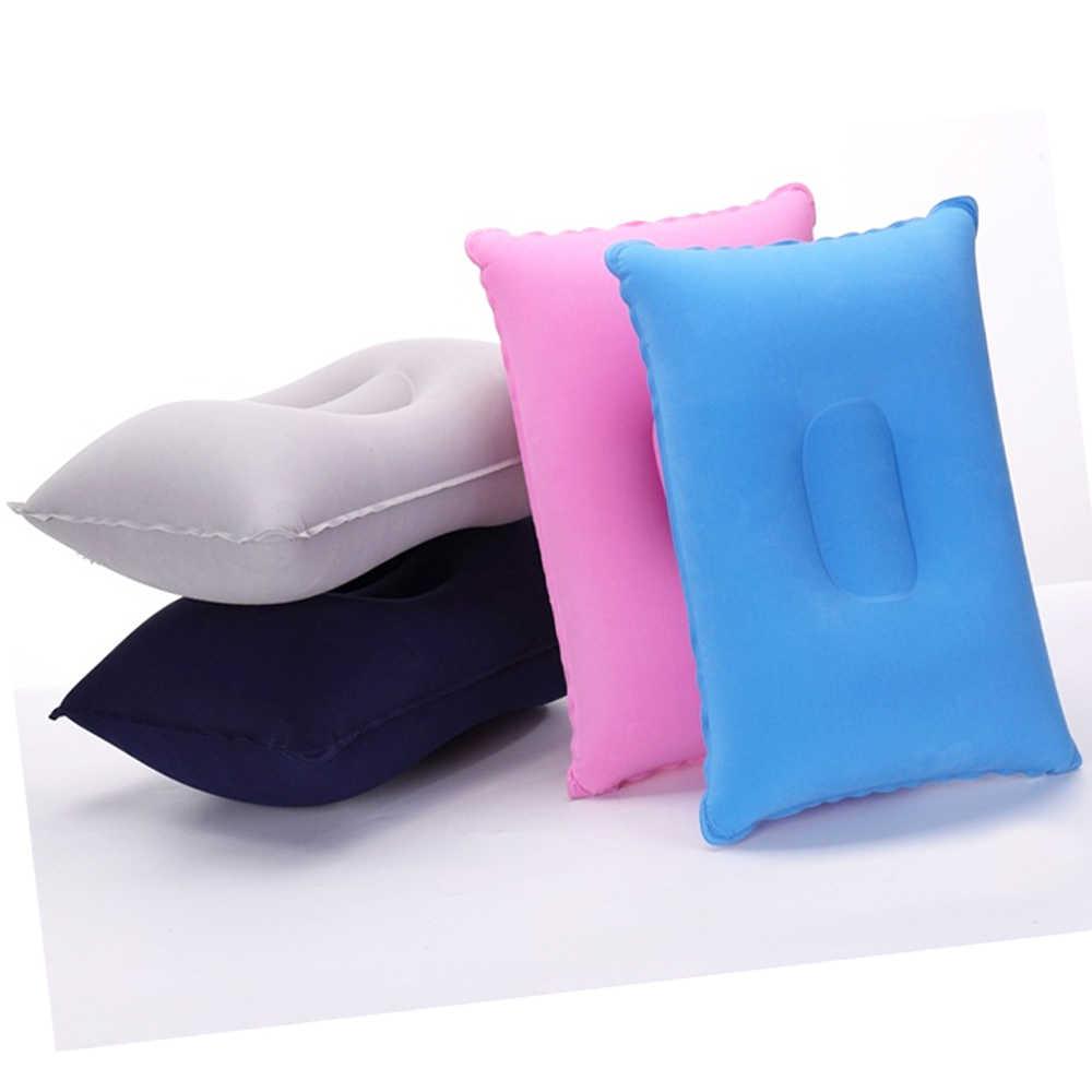 ミニインフレータブルエアー枕ポータブルベッド固体快適なロッキングクッションキャンプ旅行ハイキング飛行機ホテル睡眠休息