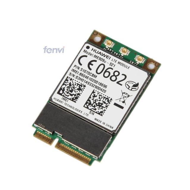 Brand new unlocked huawei me909u-521 dege 4g lte fdd mini pci-e wwan sem fio comunicação gprs gsm hspa hspa + gps módulo