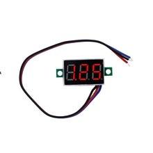 0.36 inch Digital  Red Light LED Voltmeter Portable Voltmeter  Panel Voltage Meter Electrical Instruments DC0-100V 30%off