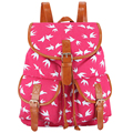 New 2017 Handmade Flying Birds Printing Canvas Mochila Escolar Mochila Feminina Vintage Bagpack Preppy School Backpack Bag