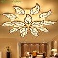 Люстра в стиле модерн для гостиной осветительный, акриловый спальня ресторан Потолочная люстра лампа домашние приспособления белый AC90-260V ...