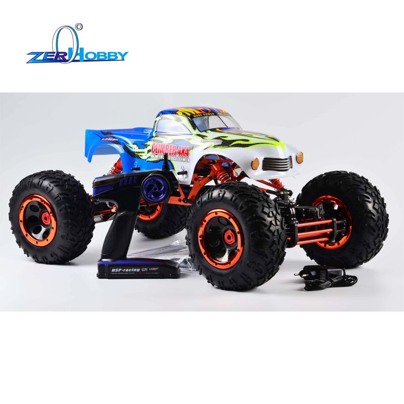 hsp racing rc car plamet 94060 1 8 scale electric powered brushless 4wd off road buggy 7 4v 3500mah li po battery kv3500 motor HSP RACING 1/8 SCALE 94880T2 ELECTRIC POWERED CLIMBER 4X4 OFF ROAD DUAL RC540 SIZE MOTOR ROCK CRAWLER 2.4G RADIO READY TO RUN