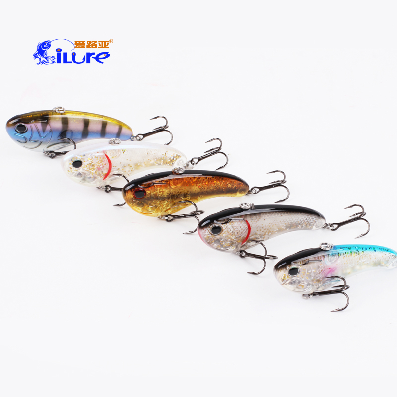 Ilure fishing lure 7.9g VIB ice fishing bait hard lures isca artificial wobbler fishing tackle China free shipping стоимость