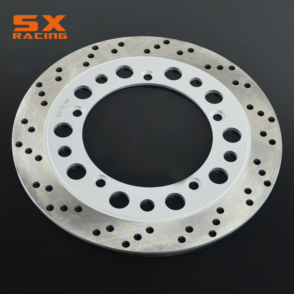 Motorcycle Stainless Steel Rear Brake Disc Rotor For NV400 1992 1993 1995 1996 1997 VT600 93 94 95 96 97 98 99 00 1993-2000 motorcycle front brake disc rotor for nv400 nv 400 1992 93 94 95 96 97 vt600 vt 600 1993 1994 1995 1996 1997 1998 1999 2000