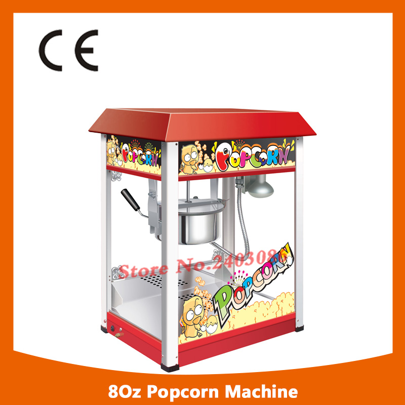 KW-BG16 ce approved 80oz electric kettle corn popcorn maker machine popcorn making machine with long life motor pop 06 economic popcorn maker commercial popcorn machine with cart