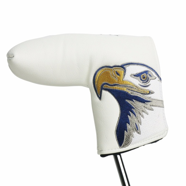 Golf Putter Head Covers Embroidered USA Eagle Pattern