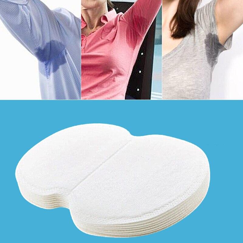 Summer Deodorant Cotton Pads Disposable 30Pcs Ultra Thin Underarm Sweat Guard Absorbing Pads Anti Odour Armpit Sweat Pads TSLM2