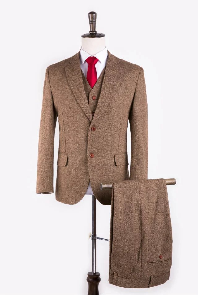 Online Get Cheap Tweed Mens Suit Aliexpress
