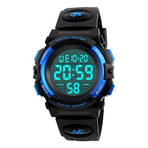 SKMEI Digital LED Children Watch Waterproof Swimming Girls Boys Clock Sports Watches Fashion Student Wristwatches NEW Karachi