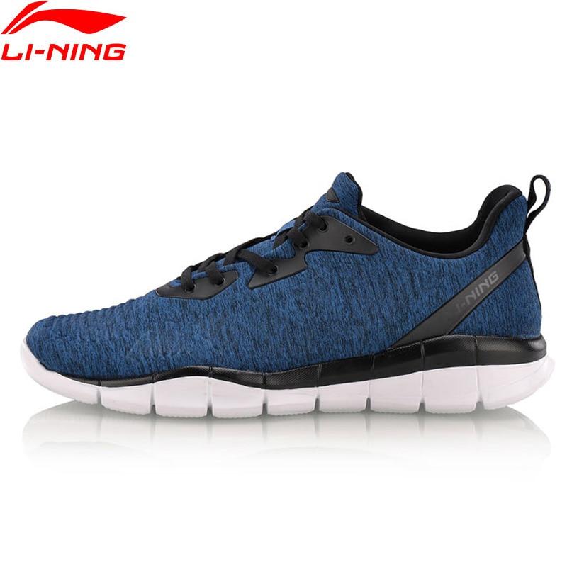 Li-Ning Hommes FLEX EXÉCUTEZ Intelligent En Mouvement Chaussures de Course Respirant Chaussures De Sport Doublure Lumière Poids Chaussures Baskets ARKN001 XYP631