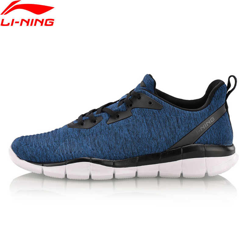 Li-Ning Men FLEX RUN Smart Moving Running Shoes Breathable LiNing Li Ning Sport Shoes Light Footwear Sneakers ARKN001 XYP631