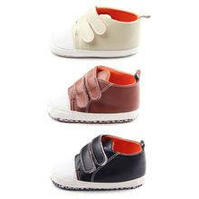 Spring Summer Baby Shoes Boys Girls Outdoors Soft PU Leather Infant First Walker Toddler Shoes