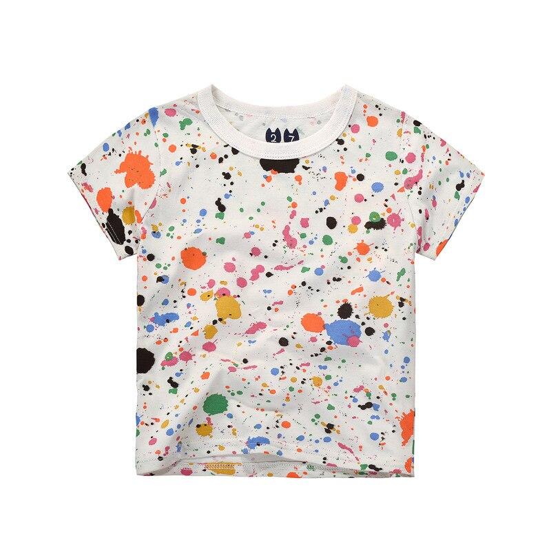 c9e92548e066 Children s T shirt Boys T-shirt Baby Clothing Little Boy Summer Shirt Tees  2017 Fashion