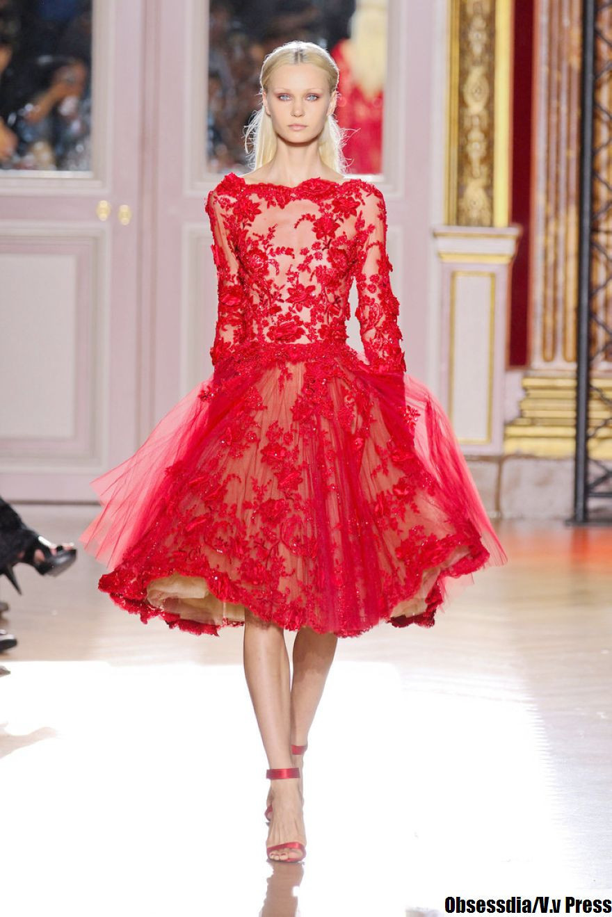 Nouvelle mode Sexy a-ligne Scoop rouge à manches longues dentelle genou longueur courte robes De bal 2019 robes De soirée Vestido De Festa Curto MA-9