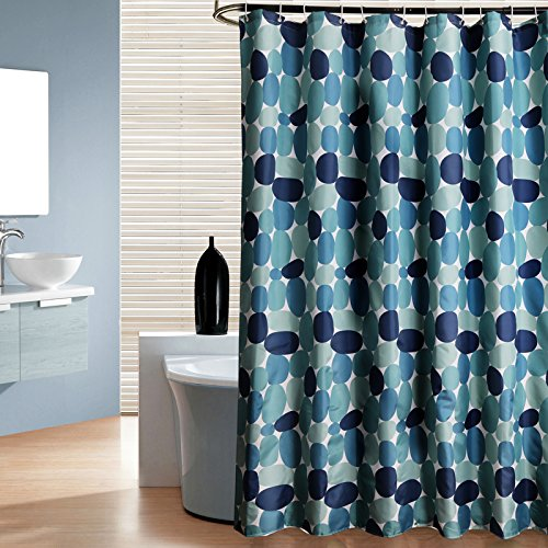 Uphome 72 X Inch Cobble Stone Pattern Heavy Duty Bathroom Shower Curtain