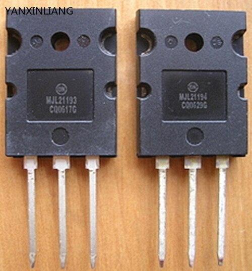 10 пара/лот MJL21193 MJL21194 TO-3PL, 16 Мощность АМПЕР ДОПОЛНИТЕЛЬНЫЕ SILICON POWER brand new