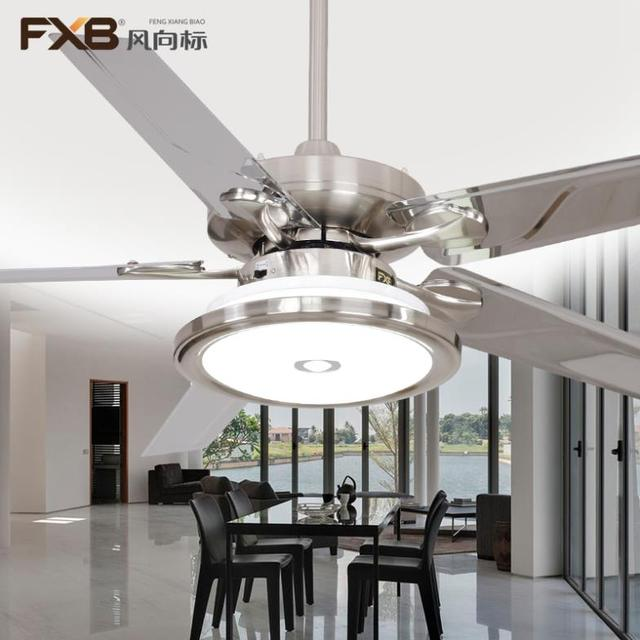 Ceiling fan lights led modern fashionable dining room metal blade ceiling fan lights led modern fashionable dining room metal blade lamp simple aloadofball Choice Image
