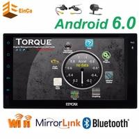 Double 2 Din Car Head Unit Android 6 0 GPS Navigation Car Stereo Auto Radio Audio