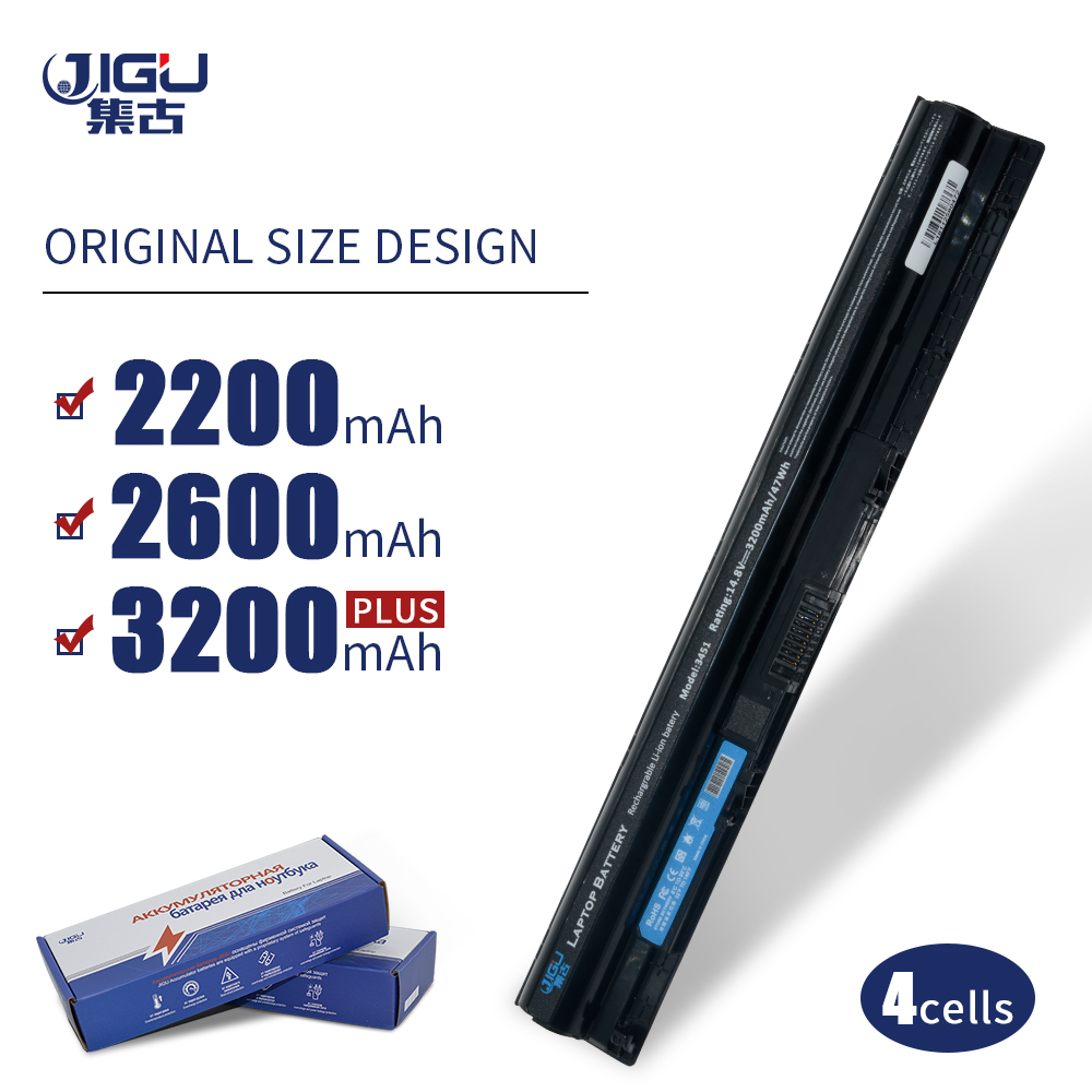 JIGU Laptop Battery FOR DELL Inspiron 14 3000 5000 5458 5459 15 5558 17  5000 3551 3552 3558 5451 5455 5755 5759 3451 3458