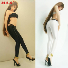 1/6scale clothes clothing set tube T-back leggings tights&bra set for 12 inches female woman girl lady action figure accessories
