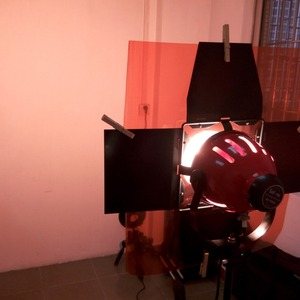 Professional 40*50cm 15.75in*19.69in Paper Gels Color Filter for Stage Lighting Redhead Light